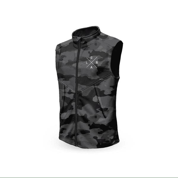 Technical vest - gray / camo