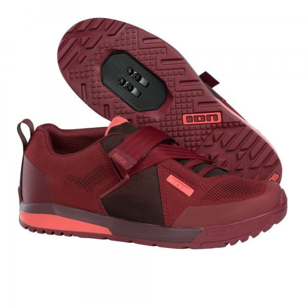 Rascal Bike Schuhe - dunkel rot