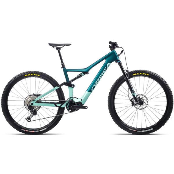 Rise M20 - 29 Zoll Fully E-Bike - Eisgrün/Oceanblau - B-Ware