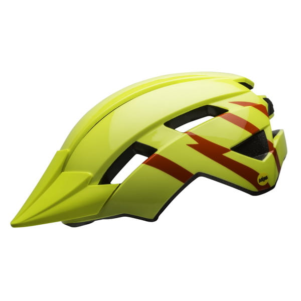 Sidetrack II Mips Kinder Fahrradhelm - Gelb/Blitz