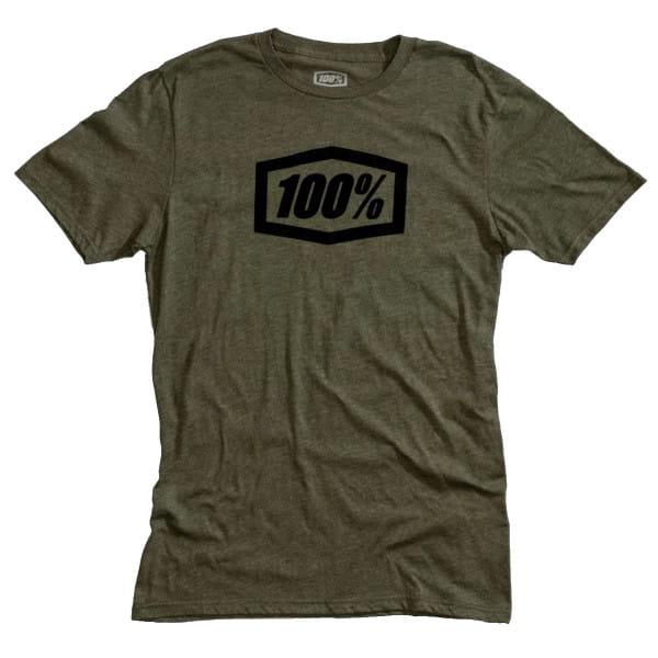 Essential T-Shirt - Grün/Schwarz