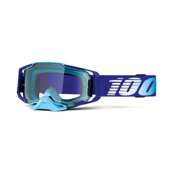 Armega Goggles Anti Fog -Blau/Hellblau - Klar-