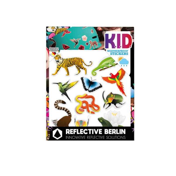 Reflective K.I.D. - Reflektoraufkleber - Jungle