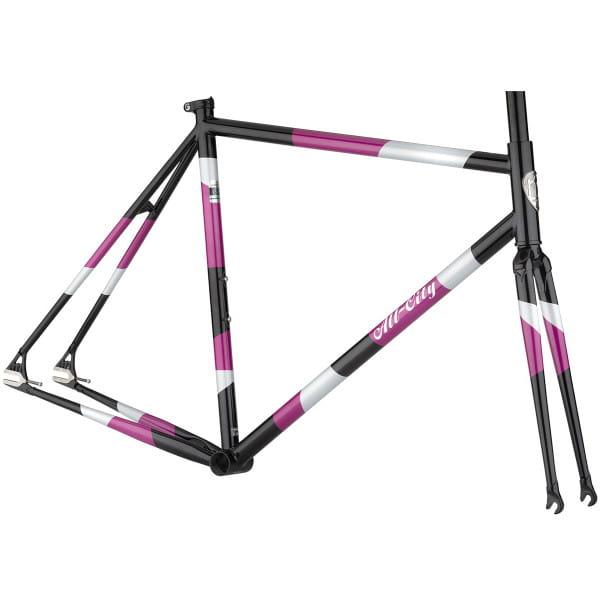 Big Block Rahmenset - Purple/Black/Silver