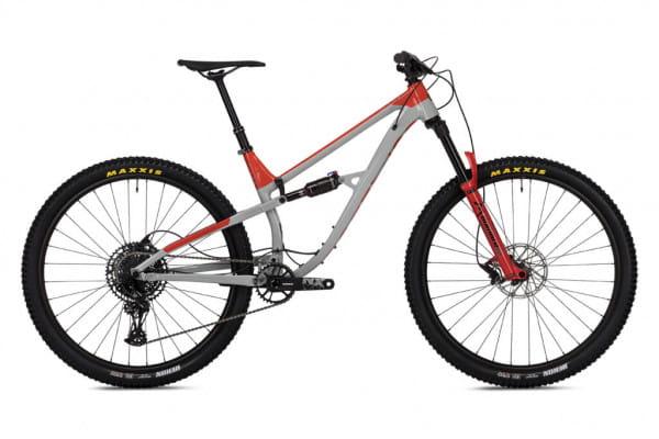 OMG EVO 29 Zoll - Trail - Grau/Rot