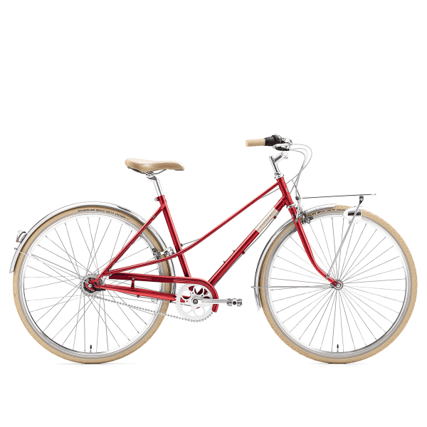 Caferacer Lady Solo 7- fach - Rot (44,5 cm)