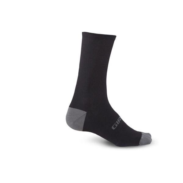 HRC + Merino Socken - Schwarz Grau
