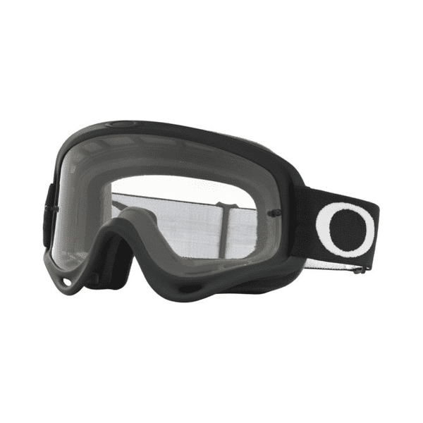 Crowbar MX Googles - Carbon Fiber Print - Clear