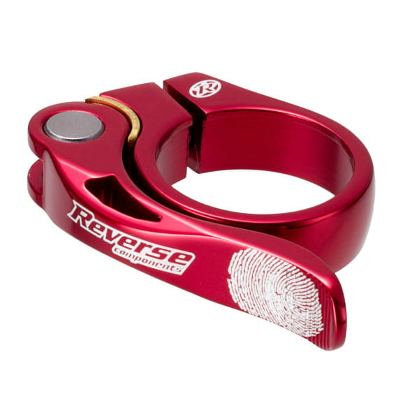 Long Life Seat Clamp 31.8 mm - Red