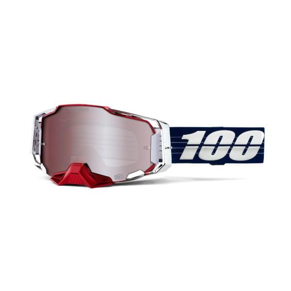 Armega Ultra HD LTD Loic Bruni - Verspiegelt - Goggles - Blau/Rot