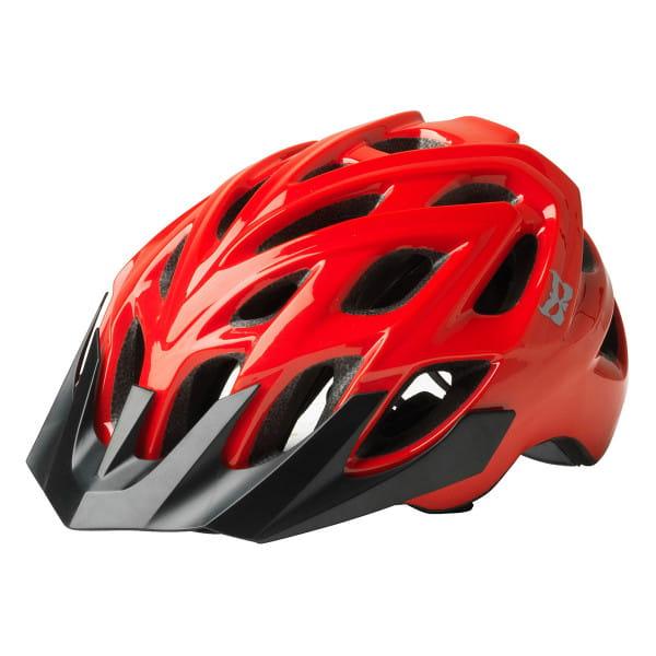 Chakra STD Fahrradhelm - Schwarz/Rot
