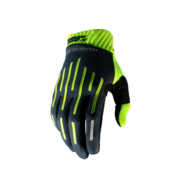 Ridefit Handschuh - Gelb/Grau