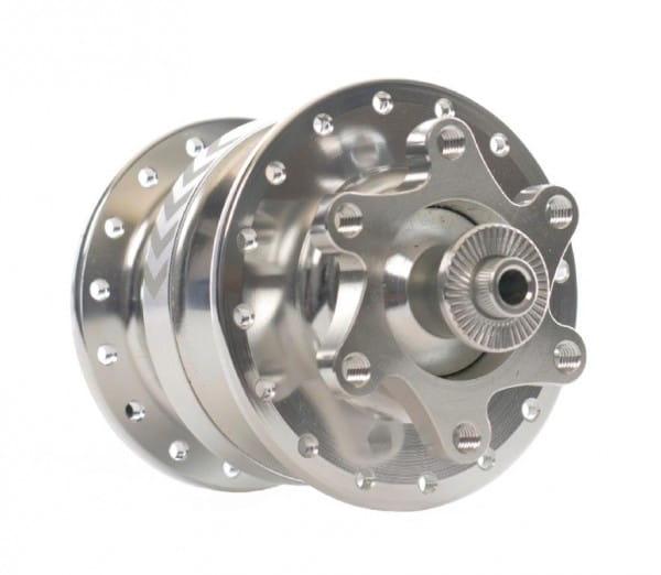 Nabendynamo SD-8 6-Loch Disc - 32-Loch - Silber