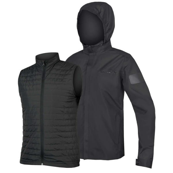 Urban 3 in 1 Waterproof Jacket - Anthracite