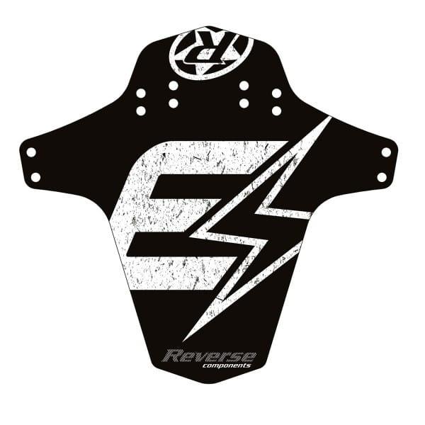 E-Serie Mudfender - Schwarz/Weiß