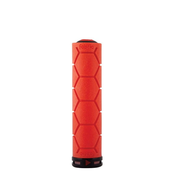 Silicone lock on grip - red