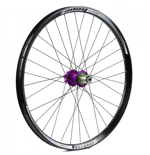Tech DH-Pro 4 Rear Wheel 150mm - purple