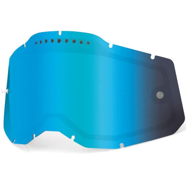 Gen. 2 Belüftetes Mirror Ersatzglas - Blau
