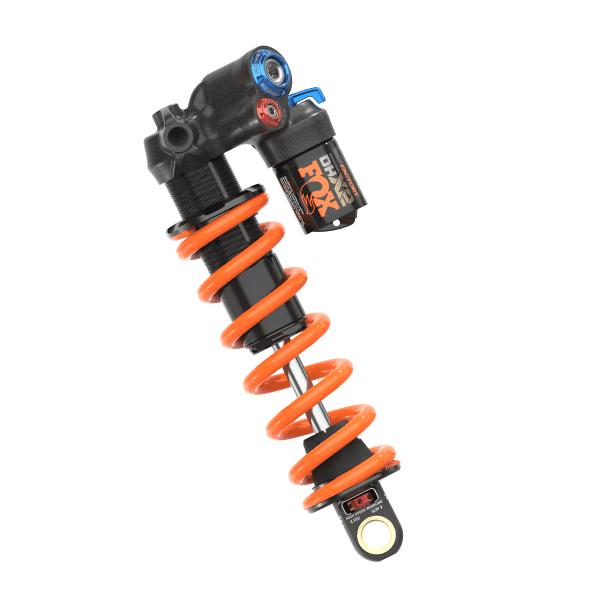 DHX2 Factory 2pos Trunnion Dämpfer - Schwarz/Orange