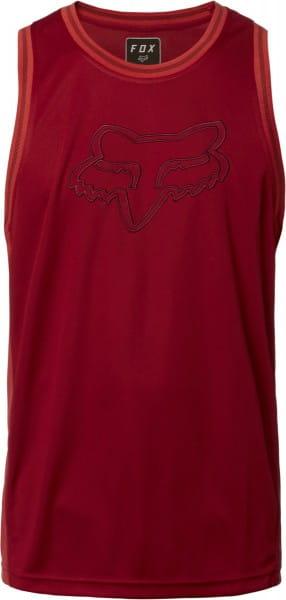 Bball FOX HEAD Tankshirt - Cardinal Rot