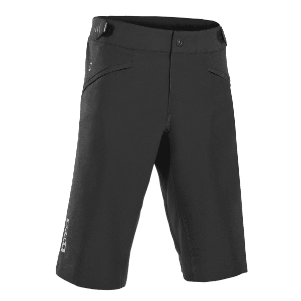 Bikeshorts Scrub AMP Lang - Schwarz