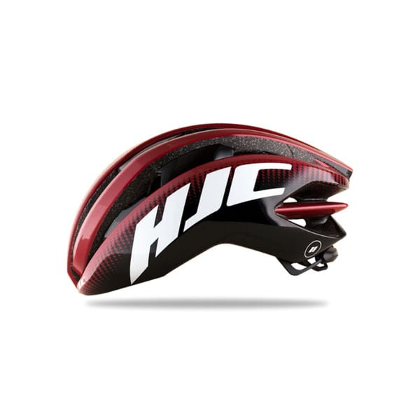 IBEX Road Helm - Matt pattern Red