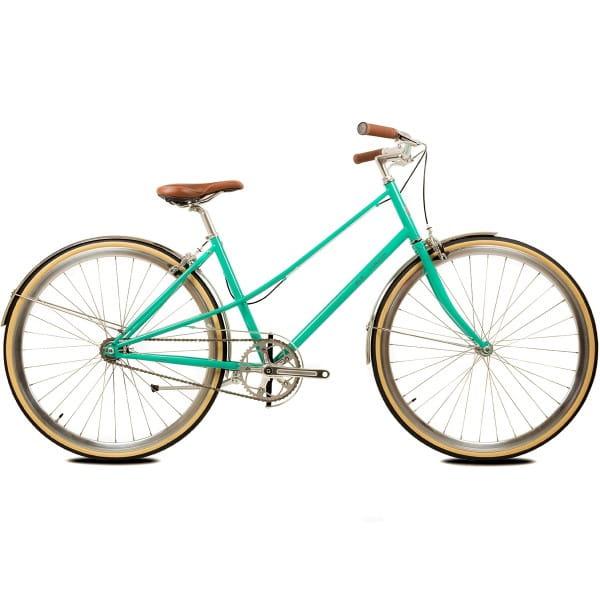 Cleo Ladies Singlespeed/Fixed Bike - emerald
