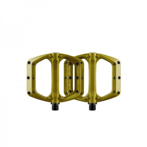 Spoon DC Flat Pedals - Gold