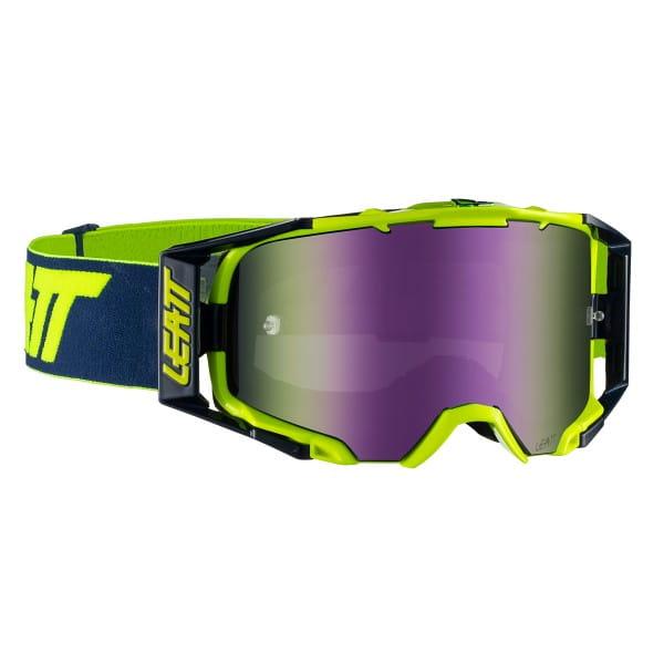 Velocity 6.5 Iriz Goggles Anti Fog Mirror Lens - Grün