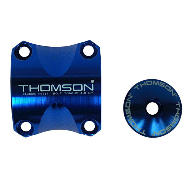 Lenkerklemmung Kit Thomson Elite X4 - Blau