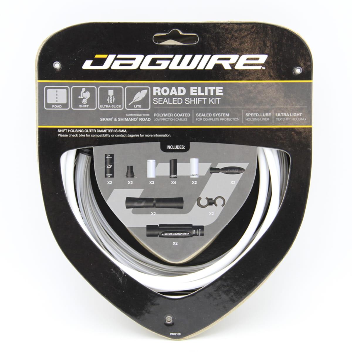 Jagwire schaltzugset 2x pro Shift Road /& Mountain Orange