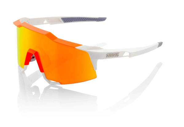 Speedcraft - Tall - HD Red Multilayer Lense/Hiper Lense - White / Neon Orange