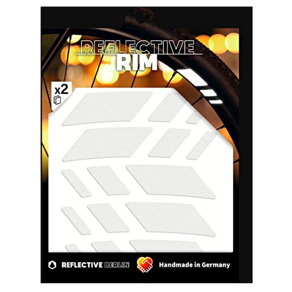 Reflective Rim Racer - Weiß