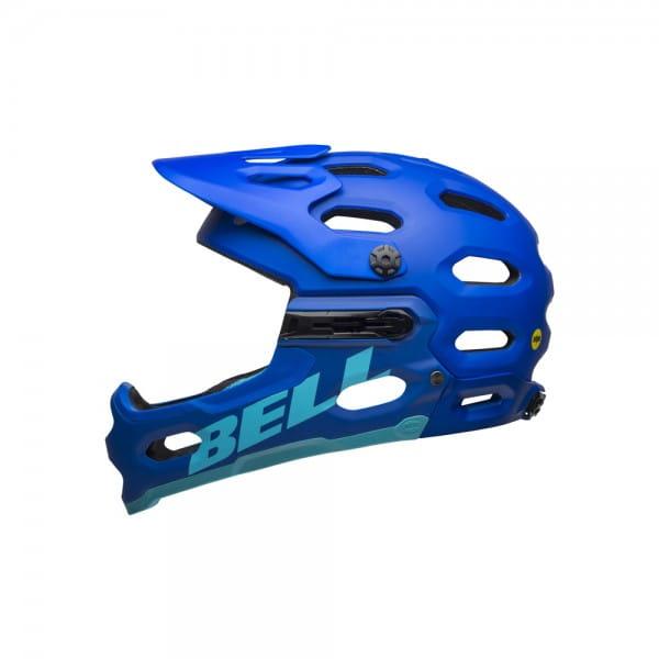 Super 3R Mips Fahrradhelm - Blau/Hellblau