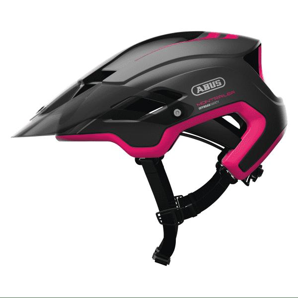 MonTrailer Fahrradhelm - Schwarz/Pink