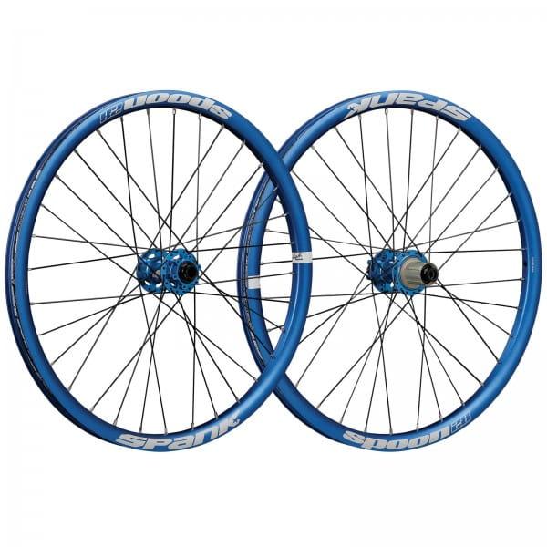 Spoon28 24 Zoll Kinder Laufradsatz - blau