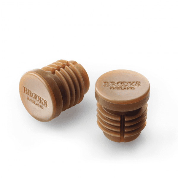 Bar End Caps for Bar Tape Cambium - Brown