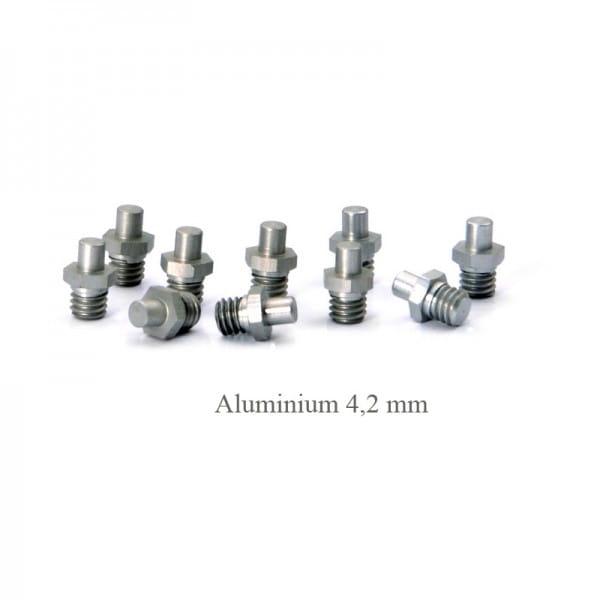 Pins für NumberNine Pedale - Aluminium 4,2 mm