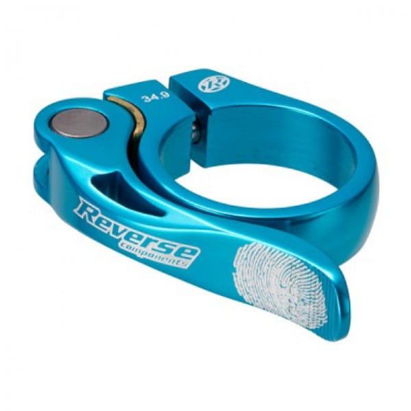Long Life Sattelklemme 34,9mm - light blue