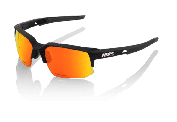 Speedcoupe Sportbrille - HD Red Multilayer - Hiper Lense - Soft Tact Black