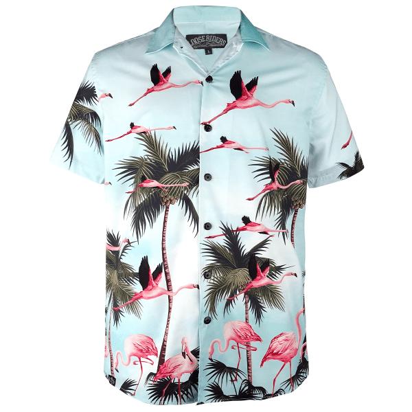 """Shirt """"Miami"""" - Blau"""