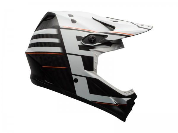 Full-9 Fullface Helm - weiss schwarz