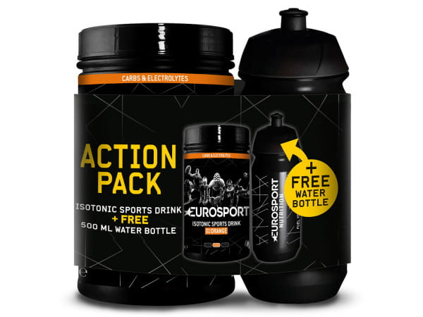 Eurosport Actionpack - Orange - incl. Bottle