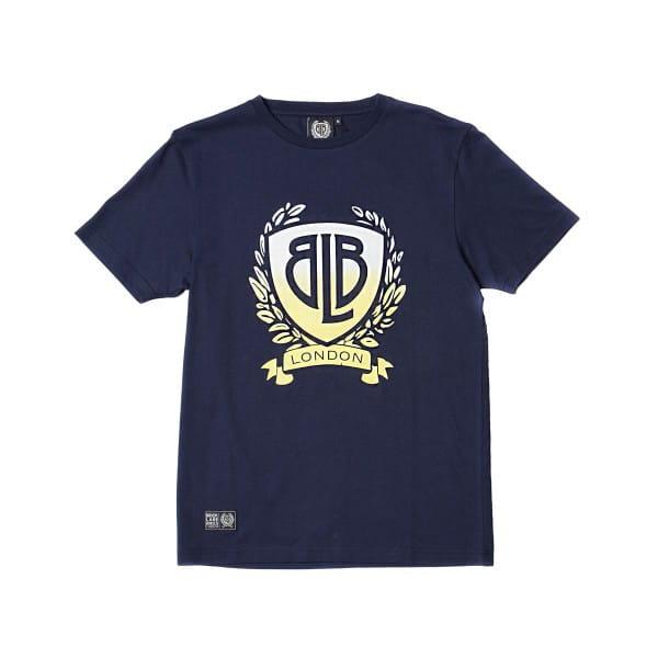 Gradient Logo T-Shirt - blau