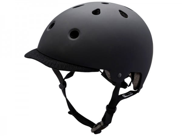 Saha Commuter Dirt/BMX Helm - Schwarz
