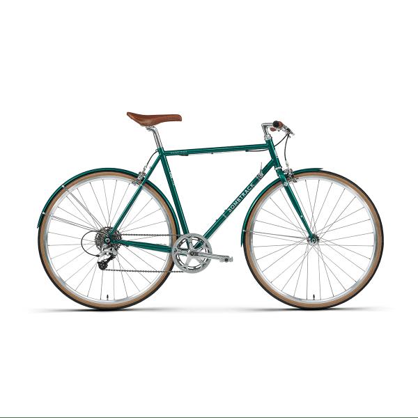 Oxbridge Geared - Metallicgrün