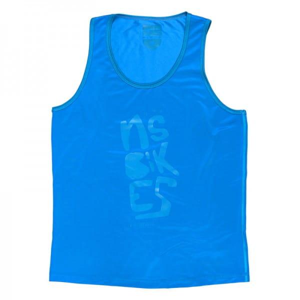 Doodle Tank Top Blue